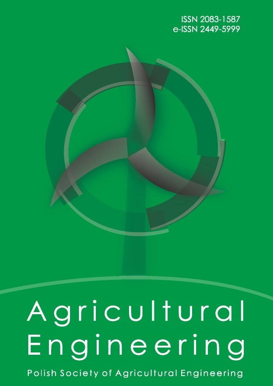 Agricultural Engineering, Vol. 21, No. 2 (162) (2017)